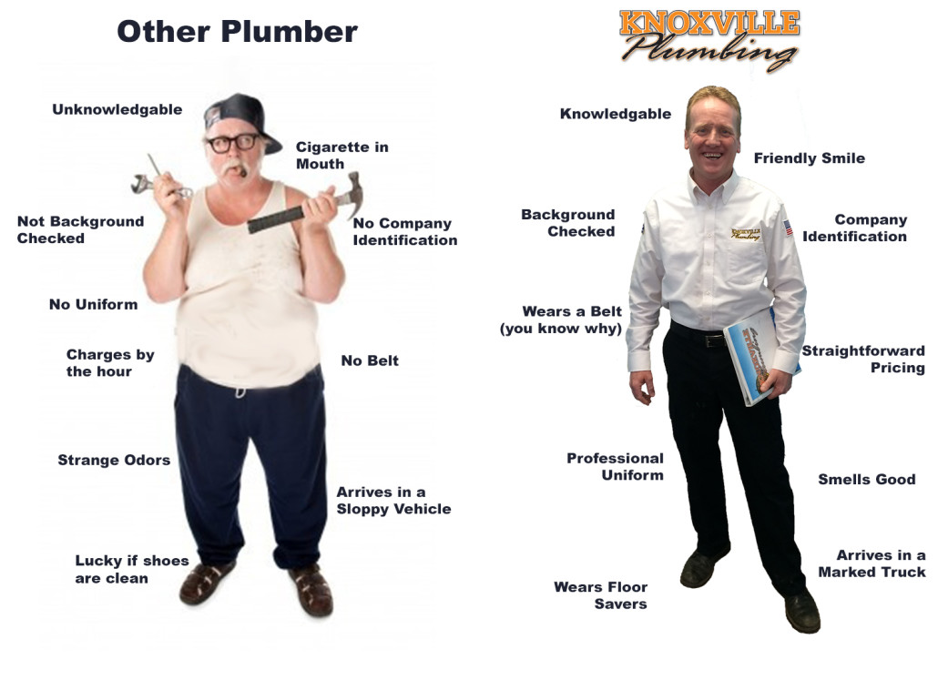 Knoxville Plumber Comparrason