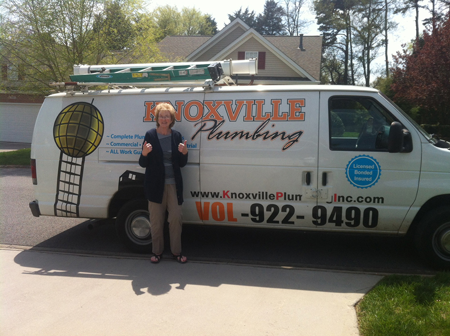 Knoxville Plumber Happy Customer
