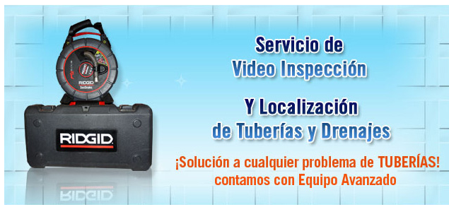 Servicio de Video Inspeccion (Knoxville)