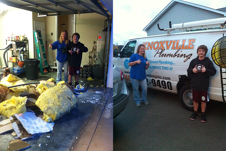 We Love our clients here at Knoxville Plumber