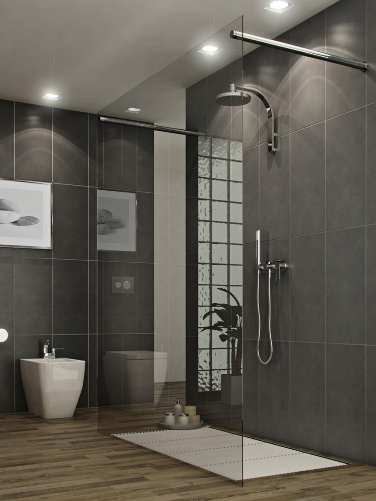 Bathroom remodeling choosing a new shower stall plumber for Salle de bains porcelanosa