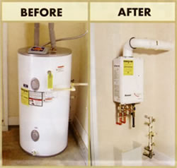 Tankless Hot Water Heater Plumber in Knoxville Tennessee