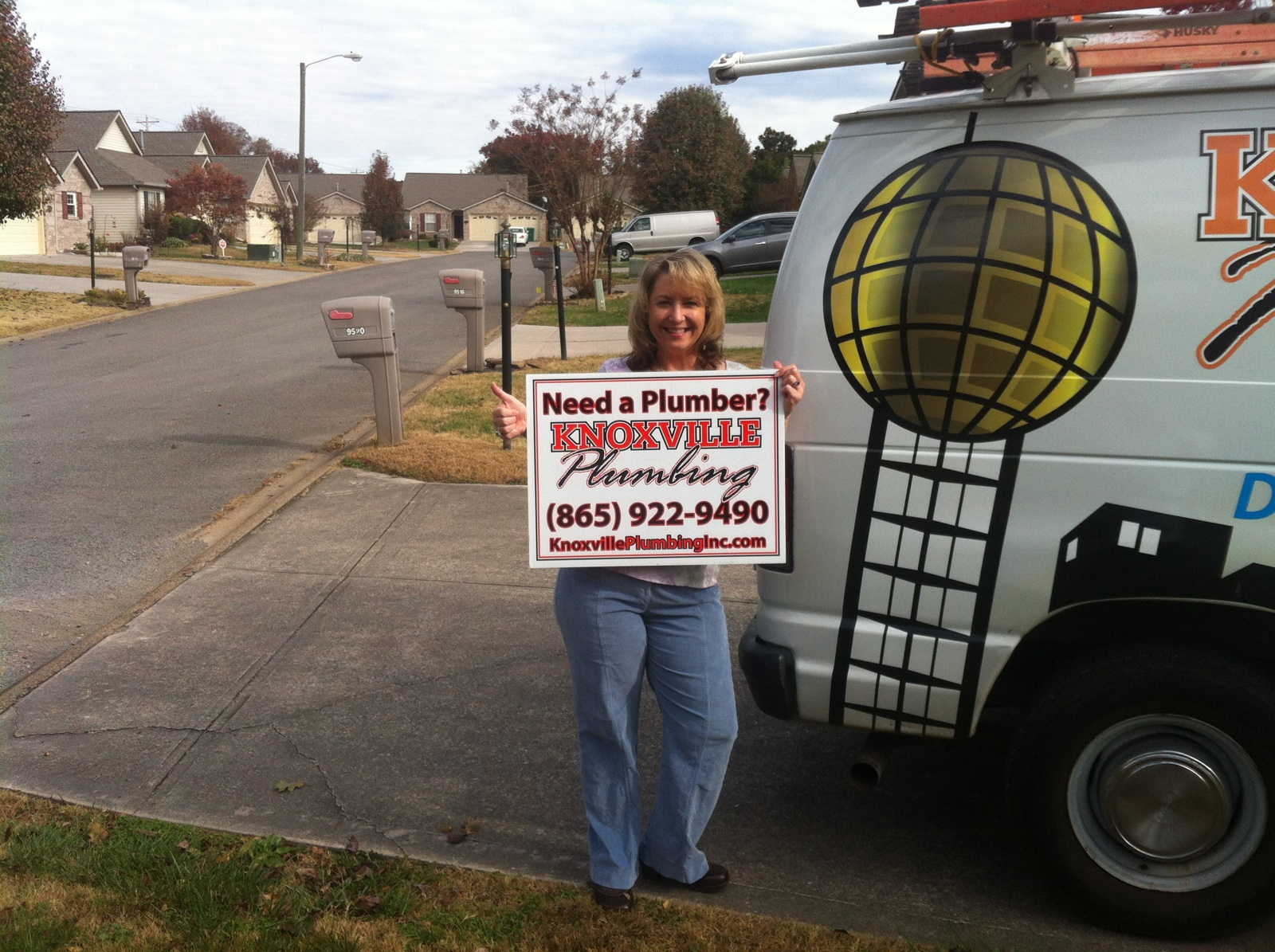 Knoxville Plumbers Happy Customer