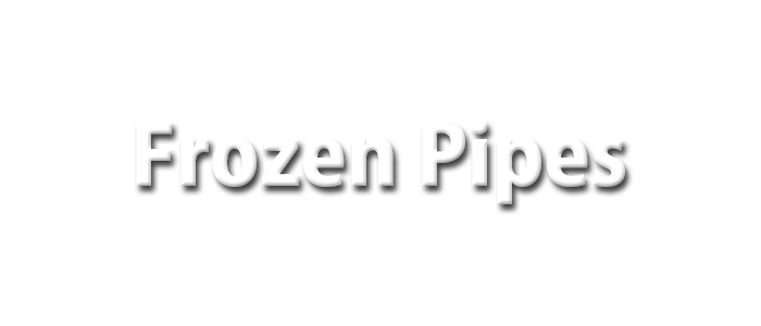 Knoxville Frozen Pipes