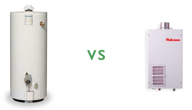 Tank vs. Tankless (Water Heaters)